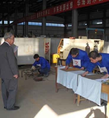 日本三年涂装工,电焊工技能面试现场